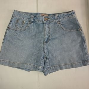 FADED GLORY LADIES SIZE 8 JEAN SHORTS